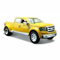 Figurki i postacie, Model kompozytowy Ford Mighty F-350 Super duty Zółty 1/31