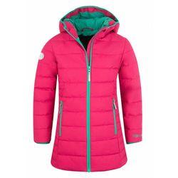 TROLLKIDS Stavanger Płaszcz Dziewczynki, różowy/turkusowy 110 2021 Kurtki zimowe i kurtki parki