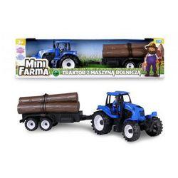 Mini Farma Traktor z maszyną rolniczą. Darmowy odbiór w niemal 100 księgarniach!