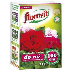 Florovit długodziałający nawóz do róż i krzewów kwitnących 100 dni 1 kg