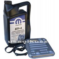Oleje silnikowe, Olej MOPAR ATF+4 oraz filtr automatycznej skrzyni 4SPD Dodge Journey