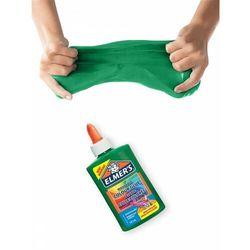 Elmer's kolorowy klej PVA, zielony, 147 ml, zmywalny - doskonały do Slime (2109505). Wiek: 3+