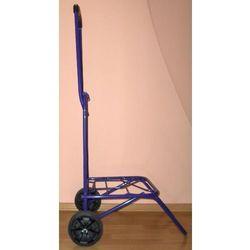 Dwukołowy składany wózek transportowy - wzmocniony