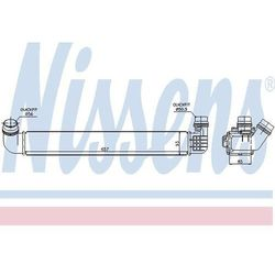 Chłodnica powietrza doładowującego - intercooler NISSENS 96569