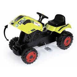 Smoby traktor na pedały Class z przyczepą, zielony