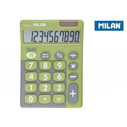 Kalkulator 10 pozycyjny Touch Duo zielony
