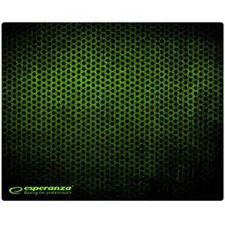 Podkładka pod myszkę Esperanza Mini Grunge 250x200x2 czarno-zielona EGP101G