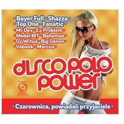 CD disco polo power czarownica powiadali przyjaciele z książką
