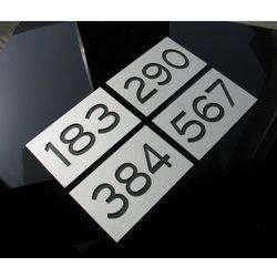 Numer Numery Cyfra Grawer na Drzwi z aluminium B3