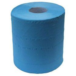 Ręcznik papierowy w roli Merida Top Niebieski Maxi, 2 warstwy, 158 m, celuloza - 6 rolek