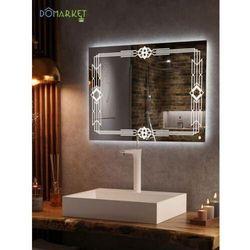 Lustro z oświetleniem ledowym do łazienki: ALISA-06