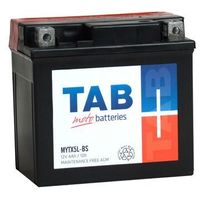 Akumulatory do motocykli, Akumulator motocyklowy TAB YTX5L-BS (MYTX5L-BS) 12V 4Ah 55A P+