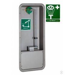 Oczomyjka, myjka do oczu i twarzy (LABO) montowana w szafce we wnęce ściennej, wylewka Axion MSR, otwarta, n/spraw