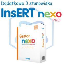 InsERT Gestor Nexo PRO - rozszerzenie na dodatkowe 3 stanowiska