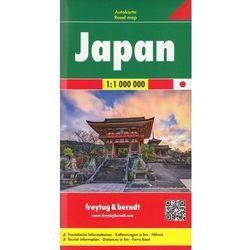 Japonia mapa 1:1 000 000 Freytag & Berndt (opr. twarda)