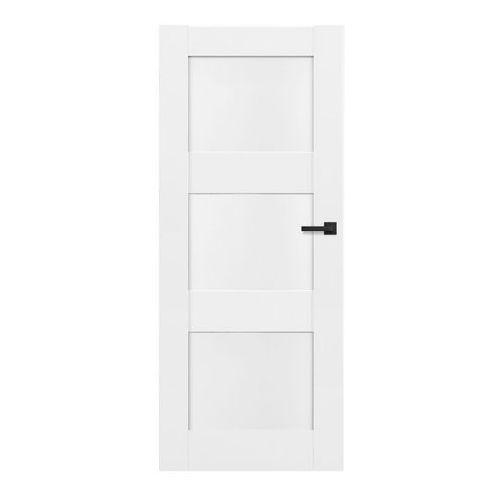 Drzwi wewnętrzne, Drzwi pełne Tre 70 lewe białe