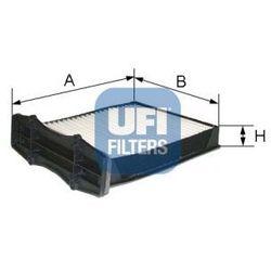 Filtr, wentylacja przestrzeni pasażerskiej UFI 53.105.00