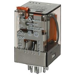 Przekaźnik prądowy 2CO 10A 0,7A AC Finder 60.12.4.071.0040