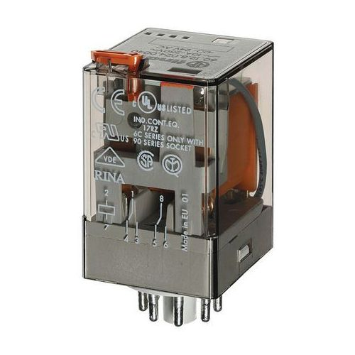 Przekaźniki, Przekaźnik 2CO 10A 110V AC Finder 60.12.8.110.0054