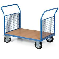 Wózek platformowy, 2x oczka, 1000 x 700 mm