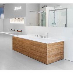 Ravak City panel boczny do wanny 80 cm lewy dąb X000001063
