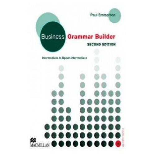 Książki do nauki języka, Business grammar builder + CD (opr. miękka)
