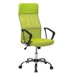 Krzesło biurowe zielone regulowana wysokość DESIGN