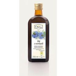 Olej z czarnuszki zimnotłoczony, nieoczyszczony 250ml