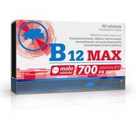 Witaminy i minerały, Olimp Witamina B12 MAX 60 tabl. metabolizm homocysteiny 067648