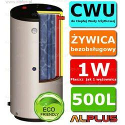 ERMET 500l pionowy dwupłaszczowy bojler do CWU - podgrzewacz wymiennik bezobsługowy - WYSYŁKA GRATIS