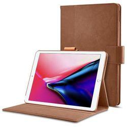 Spigen Stand Folio eleganckie etui z podstawką iPad Pro 10.5 2017 brązowy (Brown)