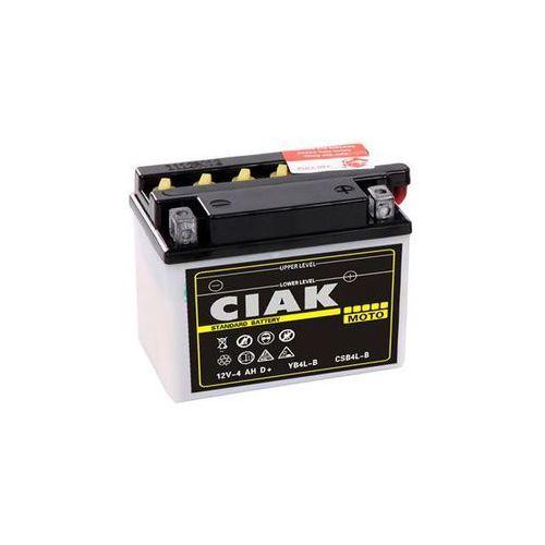 Akumulatory do motocykli, Akumulator motocyklowy CIAK YB4L-B 12V 4Ah 50A P+