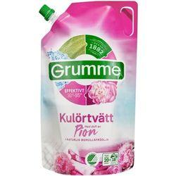 Grumme - Kulortvatt Pion - płyn do płukania z olejekiem z nasion bawełny i zapachu piwonii - 800 ml - ze Szwecji