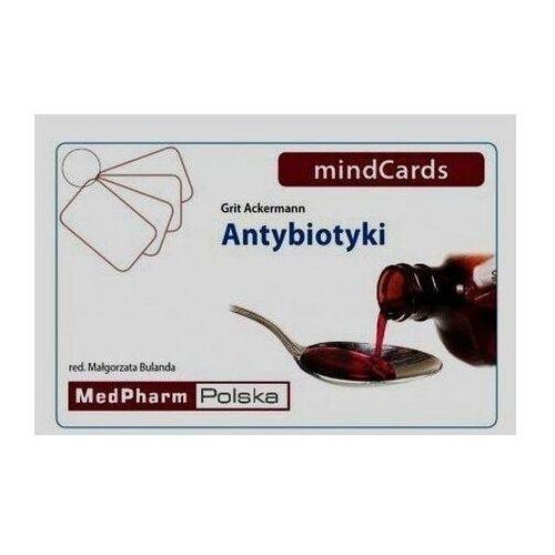 Książki medyczne, Antybiotyki mindCards (opr. twarda)