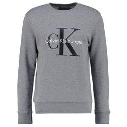 Calvin Klein Jeans CREW NECK Bluza mid grey heather