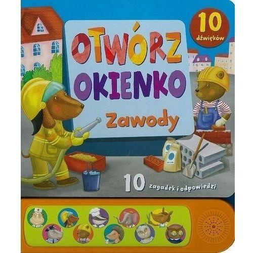 Książki dla dzieci, Otwórz okienko. Zawody - Praca zbiorowa (opr. kartonowa)