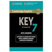 Książki do nauki języka, Cambridge English Key (KET) 7. Podręcznik z Kluczem (opr. miękka)