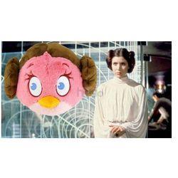 Duża Maskotka Angry Birds Star Wars 21cm pluszak Księżniczka Leia