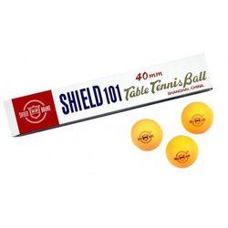 Piłeczki do tenisa stołowego SHIELD Pomarańczowy