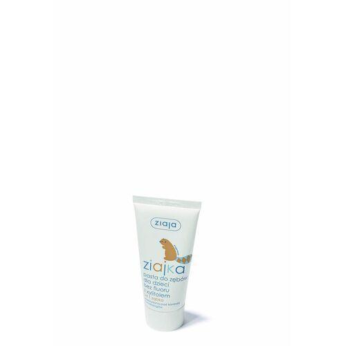 Pasty do zębów dla dzieci, Ziaja Ziajka Pasta dla dzieci bez fluoru z xylitolem dla dzieci od 6 miesięcy / pojemność 50ml