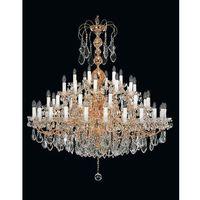 Lampy sufitowe, Żyrandol kryształowy pałacowy 54-ramienny - Elite Bohemia