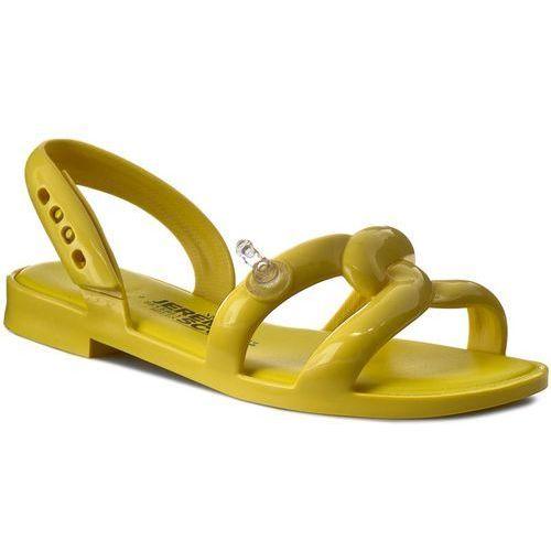 Sandały damskie, Sandały MELISSA - Tube Sandal + Jeremy S 31844 Neon Yellow 01661
