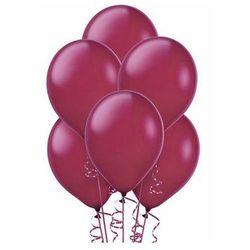 Balony lateksowe duże - 12 cali - bordowe - 100 szt.