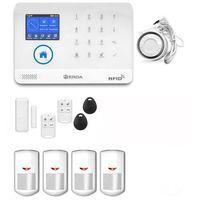 Zestawy alarmowe, bezprzewodowy zestaw alarmowy OPTIMA 1 EO01 - PG R4 + syrena 105 dB