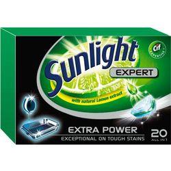 Unilever SUNLIGHT Tabletki do zmywarki (668302) Darmowy odbiór w 20 miastach!