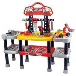 Warsztat majsterkowicza+ narzędzia 121 elementów 2212 Zabawki - 11% (-11%)