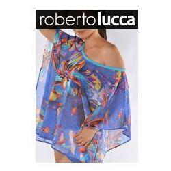 ROBERTO LUCCA Kaftan short RL140S0401 BLUE FLOWER