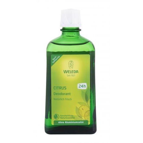 Dezodoranty damskie, Weleda Citrus dezodorant 200 ml dla kobiet