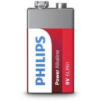 Baterie, Philips 9V 1 szt Power Alkaline (6LR61P1B/10)