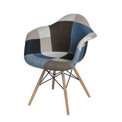 Vintage fotel Bimmi - patchwork